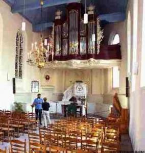 EW Dordrecht intérieur trinitatiskapel