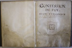 De 'Confession de foy' van de Waalse kerken in Nederland uit 1580 = The 'Confession de foy'